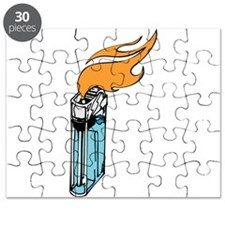 Flaming Lighter Puzzle
