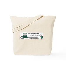 Unique Books and laptop Tote Bag