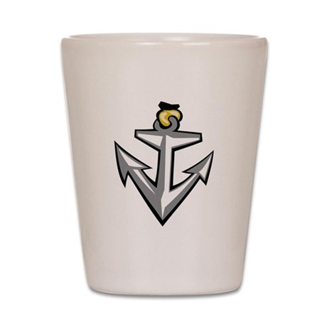 Boat Anchor Shot Glass