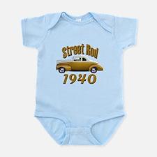 1940 Ford Hot Rod Copper Came Infant Bodysuit