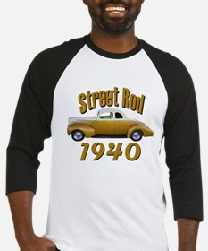 1940 Ford Hot Rod Copper Came Baseball Jersey