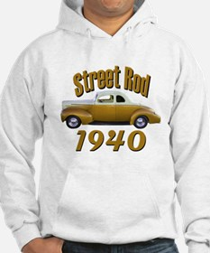 1940 Ford Hot Rod Copper Came Hoodie