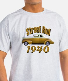 1940 Ford Hot Rod Copper Came T-Shirt