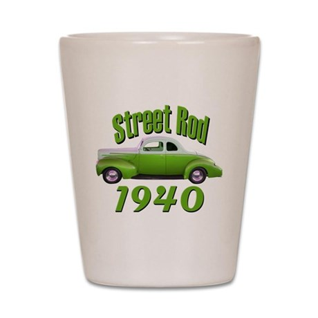 1940 Ford Street Rod Lime Aid Shot Glass