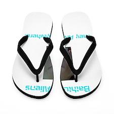 Bahtub Alien Flip Flops