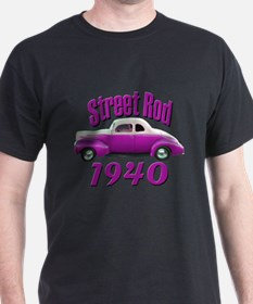 1940 Ford Deluxe Street Rod T T-Shirt