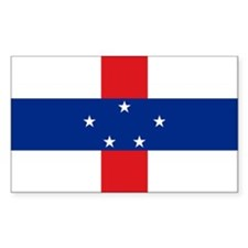 Netherlands Antilles Rectangle Decal