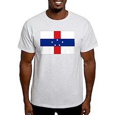 Netherlands Antilles Ash Grey T-Shirt