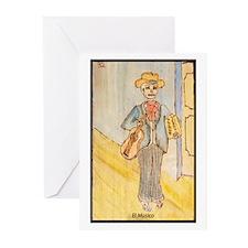El Musico Greeting Cards (Pk of 10)