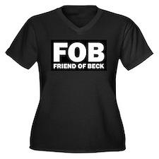 Glenn Beck FOB Friend Of Beck Women's Plus Size V-