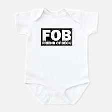Glenn Beck FOB Friend Of Beck Infant Bodysuit