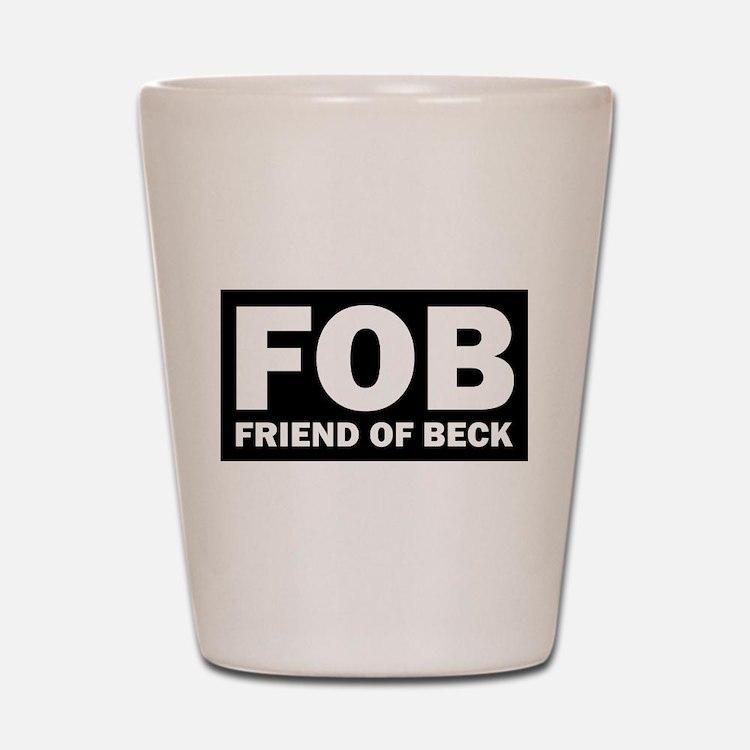 Glenn Beck FOB Friend Of Beck Shot Glass