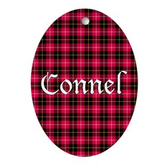 Tartan - Connel Ornament (Oval)