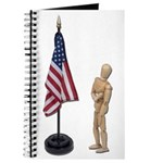 Pledge to American Flag Journal