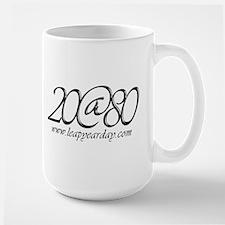 20@80 Large Mug