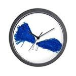 Pom Poms to Shake Wall Clock