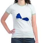 Pom Poms to Shake Jr. Ringer T-Shirt