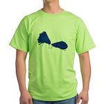 Pom Poms to Shake Green T-Shirt