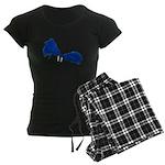 Pom Poms to Shake Women's Dark Pajamas