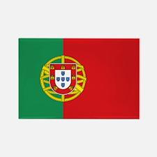 Portuguese flag Rectangle Magnet