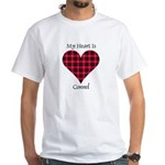 Heart - Connel White T-Shirt