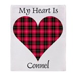 Heart - Connel Throw Blanket