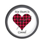 Heart - Connel Wall Clock