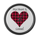 Heart - Connel Large Wall Clock