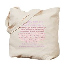 Since you REALLY wanna know... Tote Bag