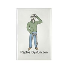 Reptile Dysfunction Rectangle Magnet