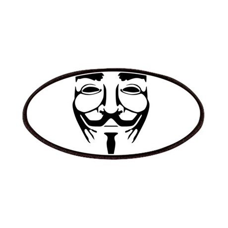 Anonymous Mask Legion Patches