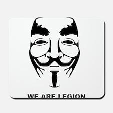 Anonymous Mask Legion Mousepad