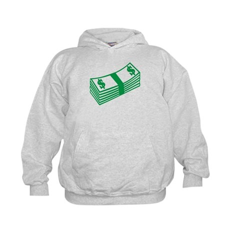 Dollar notes Kids Hoodie