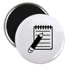 Notepad notes pencil Magnet