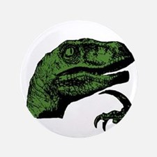 "Philosoraptor Clean 3.5"" Button"
