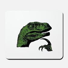 Philosoraptor Clean Mousepad