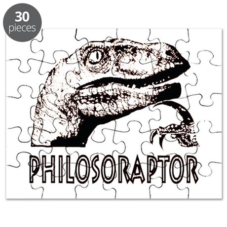 Philosoraptor Labeled Puzzle