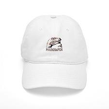 Philosoraptor Labeled Baseball Cap