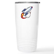 Rocket Ship Travel Coffee Mug