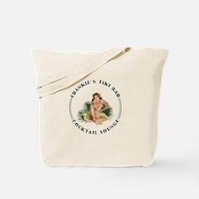 Frankie's Tiki Bar Hula Girl 1 Tote Bag