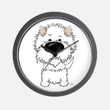Big Nose Westie Wall Clock
