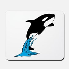 Killer Whale Jump Mousepad