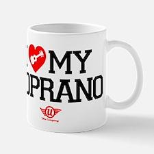 I Love My Soprano Ukulele Mug