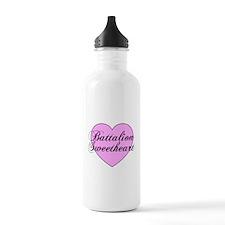 """Heart """"Battalion Sweetheart"""" Water Bottle"""