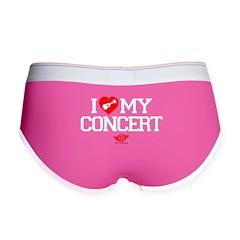 I Love My Concert Ukulele Women's Boy Brief
