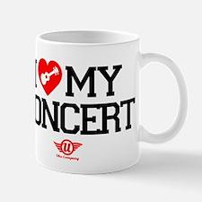 I Love My Concert Ukulele Mug