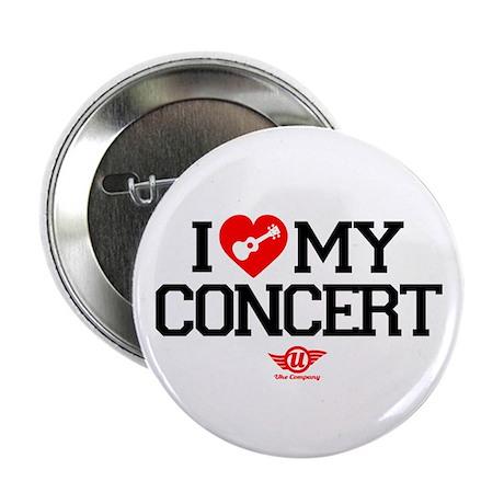 "I Love My Concert Ukulele 2.25"" Button"