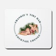 Frankie's Tiki Bar Hula Girl 2 Mousepad