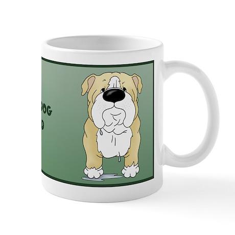 Big Nose Bulldog Dad Mug