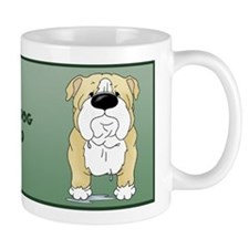 Big Nose Bulldog Dad Mug